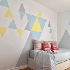 scandinavian Nursery/kid's room by Noelia Villalba