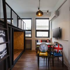 舊屋改造民宿:  飯店 by 七輪空間設計
