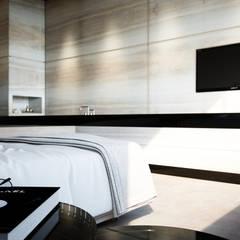 Smooth Warmth:  Slaapkamer door Deedemmers