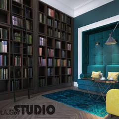 Stilvolles Mietshaus:  Arbeitszimmer von MIKOLAJSKAstudio