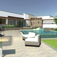 Pool by Arquitecto Pablo Restrepo