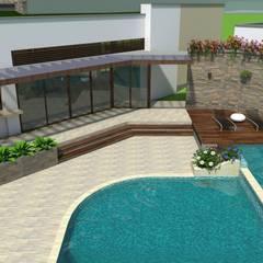 Casa de Campo el Lago: Casas de estilo  por Arquitecto Pablo Restrepo