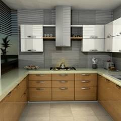 Diseño interior cocina: Cocinas de estilo clásico por Arquitecto Pablo Restrepo