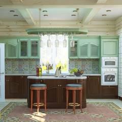 СКАЗОЧНЫЙ ТЕРЕМ: Кухни в . Автор – Мастерская интерьера Юлии Шевелевой, Кантри
