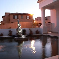 WATERFEATURE:  Garden by Greenacres Cape landscaping, Minimalist