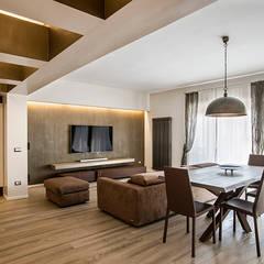 Ruang Keluarga oleh studioQ, Modern