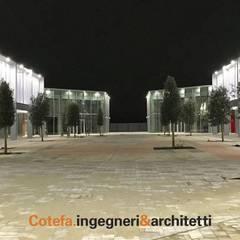 Scalo Milano: Centri commerciali in stile  di Cotefa.ingegneri&architetti