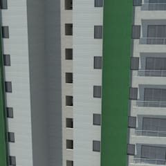 Proyecto de Vievienda Multifamiliar: Casas de estilo  por Atahualpa 3D