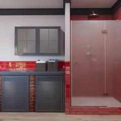 Мольберт: Ванные комнаты в . Автор – ДОМ СОЛНЦА