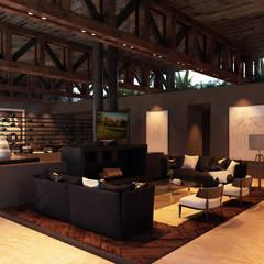 Casa Club El Marques : Cavas de estilo  por Tectónico