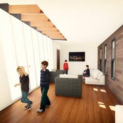 Estar de Ocio : Dormitorios infantiles de estilo  por GerSS Arquitectos