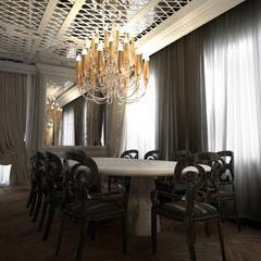 Oda Tasarım İçmimarlık – SALON TEMEK MASASI: klasik tarz tarz Yemek Odası