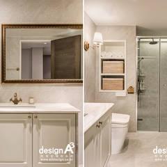 고급스런 클래식의 향연: Design A3의  욕실