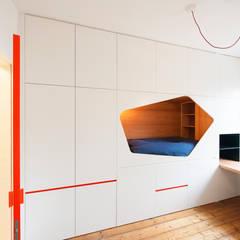 MAT:  Slaapkamer door van staeyen interieur architecten