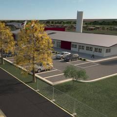 Fazenda CRV: Centros de exposições  por Vitruvius 3D