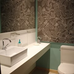 Badezimmer von KDF Arquitectura, Modern