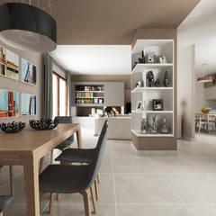 اتاق نشیمن توسطDe Vivo Home Design, مدرن