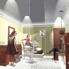 Render.: Espacios comerciales de estilo  por Síntesis Arquitectónica ®