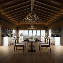 Architectural Rendering Services Wonstudios: Gastronomía de estilo  por Wonstudios