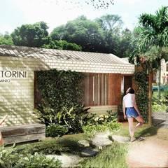 PORTERIA: Casas de estilo  por SUPERFICIES Estudio de arquitectura y construccion