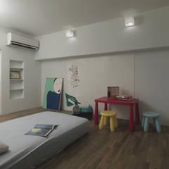 小小的森屋:  嬰兒房/兒童房 by 賀澤室內設計 HOZO_interior_design