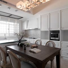 | L&C 住宅 |:  廚房 by 賀澤室內設計 HOZO_interior_design