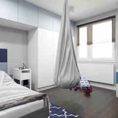 Pokój dziecka: styl , w kategorii Pokój dziecięcy zaprojektowany przez MONOstudio