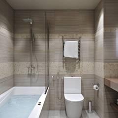 minimalistic Bathroom by студия дизайна интерьера 'Sreda Studio'