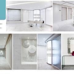 Entrada y pasillo: Clínicas / Consultorios Médicos de estilo  por Andrea Loya