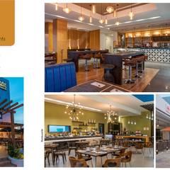 Bar dentro del hotel: Hoteles de estilo  por Andrea Loya