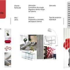 Moodboard conceptual: Clínicas / Consultorios Médicos de estilo  por Andrea Loya