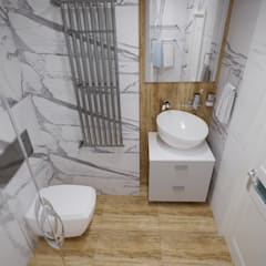 Bathroom by Студия дизайна Натали Хованской