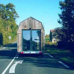 Tiny House: Maisons de style  par Ophélie Dohy architecte d'intérieur