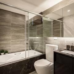 個性品味:  浴室 by 你你空間設計
