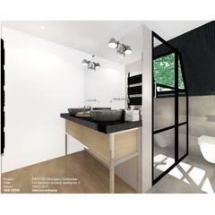 ONTWERP BADKAMER: klasieke Badkamer door VAN VEEN Interior Design