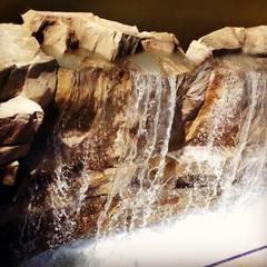 Palmiye Peyzaj Mimarlık – ADALYA HOTEL KUNDU- ŞELALE PALMROCK WATERFALL:  tarz Oteller