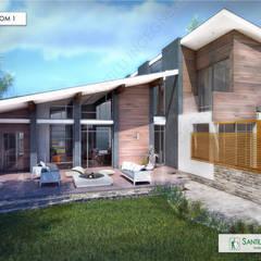 Dom 1 (VS - Italy): Дома в . Автор – Apriori Albero