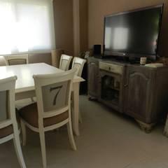 Casa en bario cerrado- Diseño de muebles personalizado: Cocinas de estilo  por Sepia reciclados