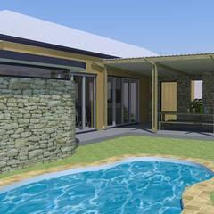 pool area: modern Pool by Till Manecke:Architect