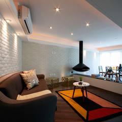 Suites Polanco: Salas de estilo clásico por All Arquitectura