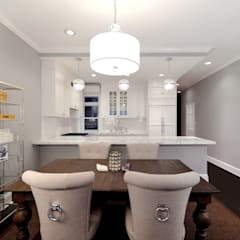 Renovation on 82nd Street: modern Dining room by KBR Design and Build
