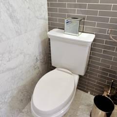 Renovation on 82nd Street: modern Bathroom by KBR Design and Build