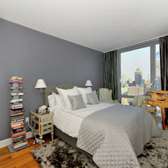 Apartment Remodel on West 52nd St.: minimalistic Bedroom by KBR Design and Build