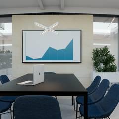 Wnętrze biurowe: styl , w kategorii Przestrzenie biurowe i magazynowe zaprojektowany przez NUKO STUDIO