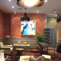 esapce Salon restaurant Montesquieu Bordeaux: Restaurants de style  par la p'tite fabrik