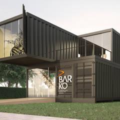 Espacios comerciales de estilo  por Paralelo Arquitetura e Comunicação