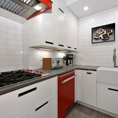Renovation at 29 Tiffany :  Kitchen by KBR Design and Build