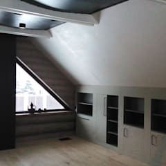 """""""Серый"""" дом: Стены в . Автор – DADA Studio"""
