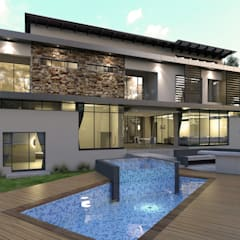 House Eye of Africa Golf & Residential Estate II:  Houses by Metako Projex, Modern