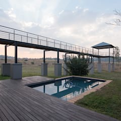 House Zwavelpoort AH: country Pool by Metako Projex